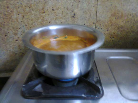 chaaru is boiling and ready